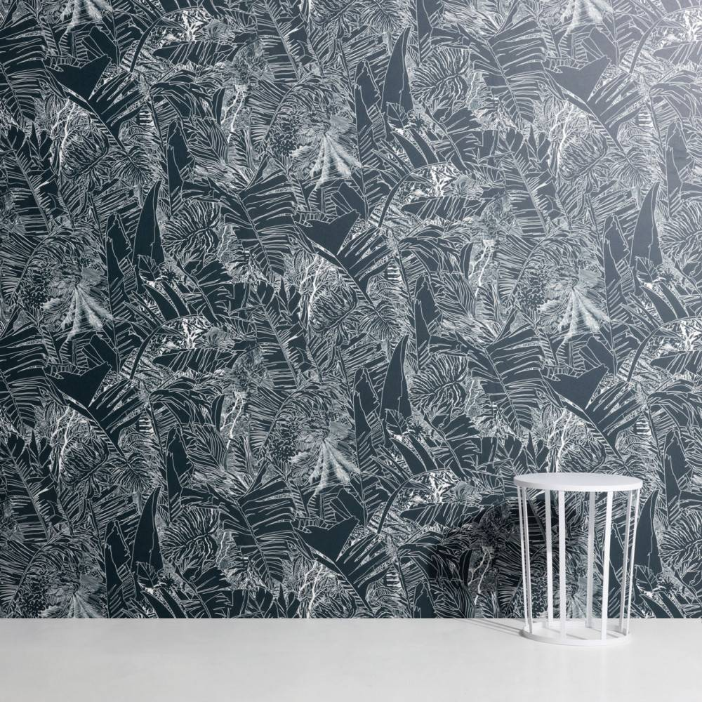 Jungle wallpaper - Tiphaine de Bodman for Petite Friture