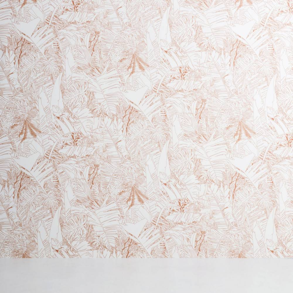 Tropical leaf wallpaper - Petite Friture