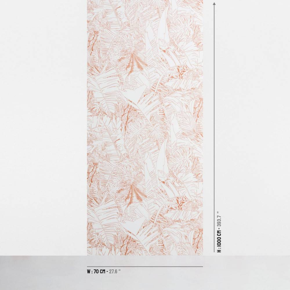 Jungle wallpaper size - Petite Friture
